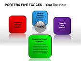 Porters Five Forces PPT Diagrams & Chart - Slide 12