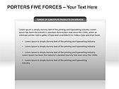 Porters Five Forces PPT Diagrams & Chart - Slide 15