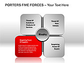 Porters Five Forces PPT Diagrams & Chart - Slide 6