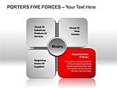 Porters Five Forces PPT Diagrams & Chart - Slide 7