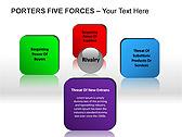 Porters Five Forces PPT Diagrams & Chart - Slide 9