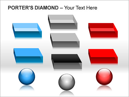 Портье Алмаз Схемы и диаграммы для PowerPoint - Слайд 16
