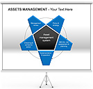 Assets Management PPT Diagrams & Chart