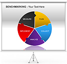 Benchmarking PPT Diagrams & Chart