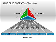 Due Diligence PPT Diagrams & Charts