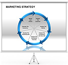 Estrategia de Marketing Gráficos y diagramas para PowerPoint