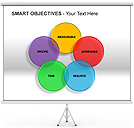 Smart Objectives PPT Diagrams & Chart