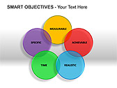 Smart Objectives PPT Diagrams & Charts - Slide 1