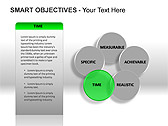 Smart Objectives PPT Diagrams & Charts - Slide 6