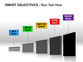 Smart Objectives PPT Diagrams & Charts - Slide 8