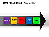 Smart Objectives PPT Diagrams & Charts - Slide 9