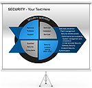 Security PPT Diagrams & Chart