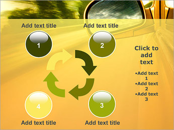 Car and Way PowerPoint Template - Slide 14