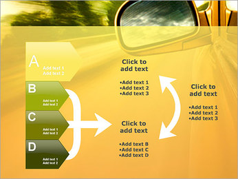 Car and Way PowerPoint Template - Slide 16