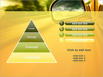 Car and Way PowerPoint Template - Slide 22