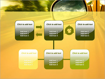 Car and Way PowerPoint Template - Slide 23