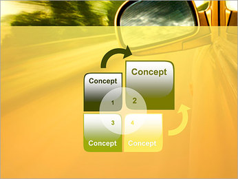 Car and Way PowerPoint Template - Slide 5