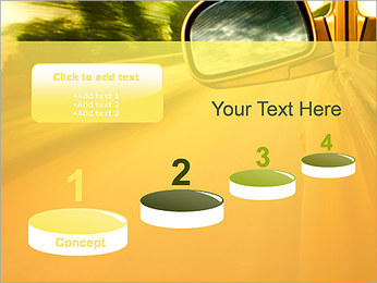Car and Way PowerPoint Template - Slide 7