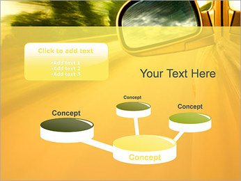 Car and Way PowerPoint Template - Slide 9