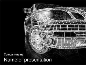 Posh Car PowerPoint Template