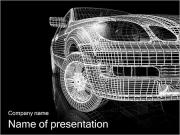 Posh samochodów Szablony prezentacji PowerPoint
