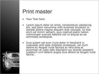 Car Posh Modèles des présentations  PowerPoint - Diapositives 24