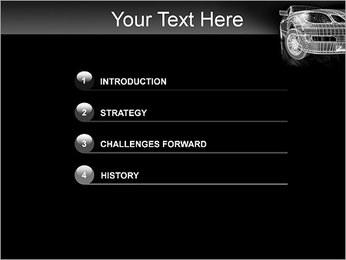 Car Posh Modèles des présentations  PowerPoint - Diapositives 3