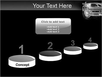 Car Posh Modèles des présentations  PowerPoint - Diapositives 7