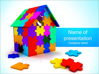 Dream House Plantillas de Presentaciones PowerPoint