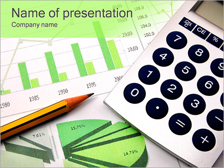 Business Chart PowerPoint Template
