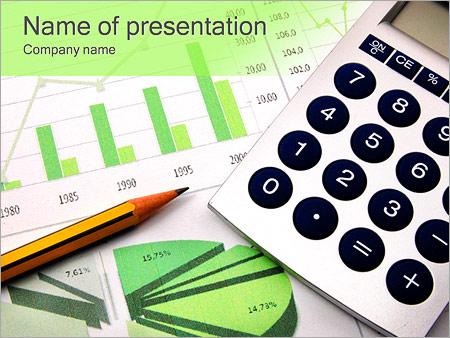 Gráfico de negocios Plantillas de Presentaciones PowerPoint