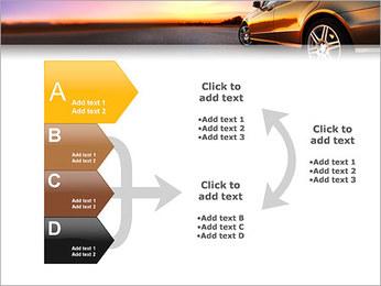 Voiture sur la route Modèles des présentations  PowerPoint - Diapositives 16