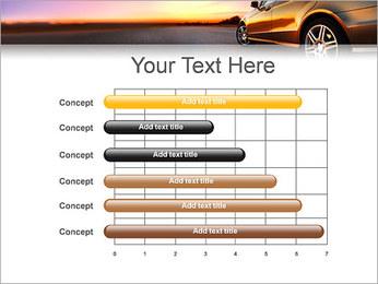 Voiture sur la route Modèles des présentations  PowerPoint - Diapositives 17