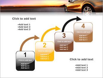Voiture sur la route Modèles des présentations  PowerPoint - Diapositives 20