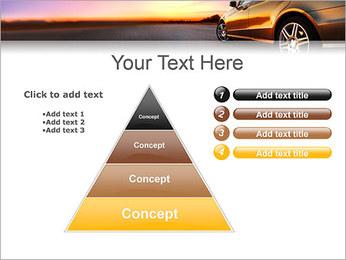 Voiture sur la route Modèles des présentations  PowerPoint - Diapositives 22