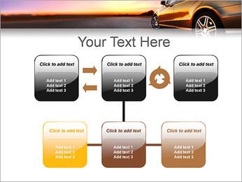 Voiture sur la route Modèles des présentations  PowerPoint - Diapositives 23