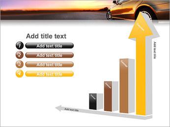 Voiture sur la route Modèles des présentations  PowerPoint - Diapositives 6