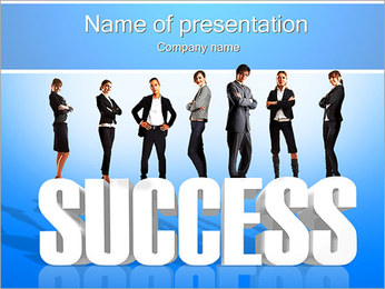 Achiving Success PowerPoint Template