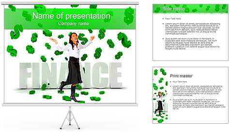 Financial Success PowerPoint Template
