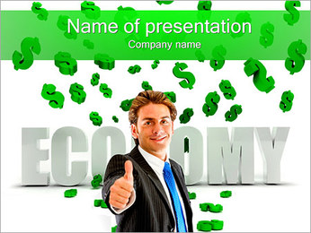 Efficient Economy PowerPoint Template