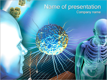 Abstract Body System PowerPoint Template