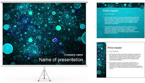 Abstraction artistique Modèles des présentations  PowerPoint