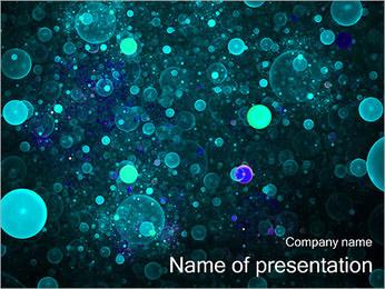 Abstraction artistique Modèles des présentations  PowerPoint - Diapositives 1