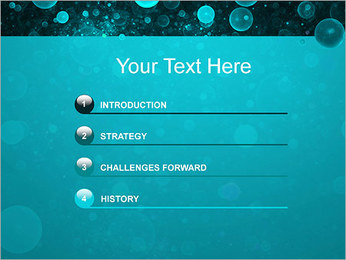Abstraction artistique Modèles des présentations  PowerPoint - Diapositives 3
