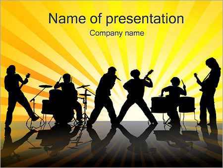 Rock concert powerpoint template backgrounds google slides id rock concert powerpoint template toneelgroepblik Gallery