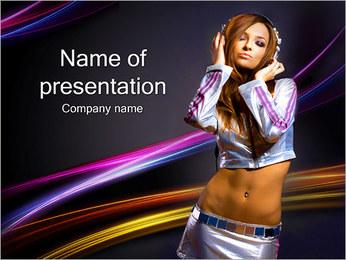 Listen Music PowerPoint Template