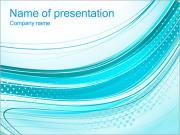 Azul Abstracción Plantillas de Presentaciones PowerPoint