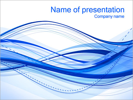 Abstract Lines PowerPoint Template