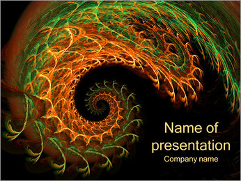 Interesting Abstraction PowerPoint Template