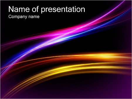 Dark Color Abstract Powerpoint Template Backgrounds Google Slides